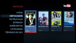 App YouTube para Philips Smart TV