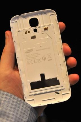 Tapa de carga inalámbrica para Galaxy S4