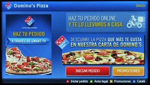 Samsung Smart TV Domino's Pizza
