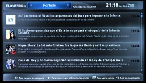 Samsung Smart TV ElMundo