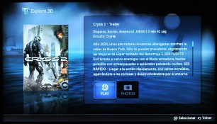Samsung Smart TV Explore 3D