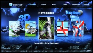 Samsung Smart TV Explore 3D