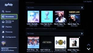 Samsung Smart TV Spotify