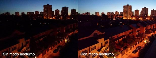 Samsung Galaxy S4 - Modo Nocturno