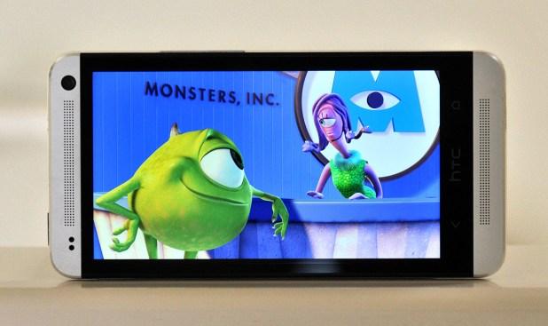 HTC One - Reproduccion pelicula