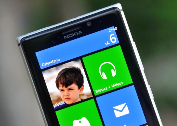 Nokia Lumia 925 - pantalla