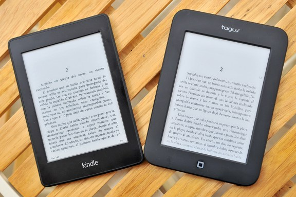 Tagus Lux y Kindle Paperwhite
