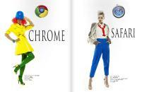 Chrome y Safari