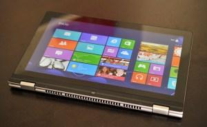 Lenovo IdeaPad Yoga 13 - modo tablet