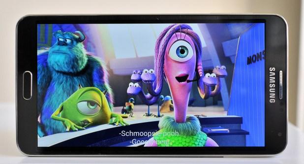 Samsung Galaxy Note 3 - Película