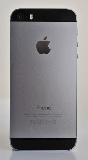 iPhone 5s - detras
