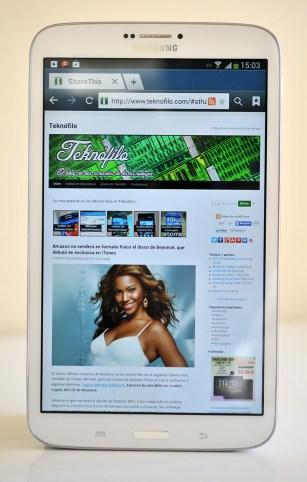 Samsung Galaxy Tab 3 8.0 - web