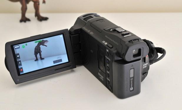 Sony JDR PJ-810E - Atras