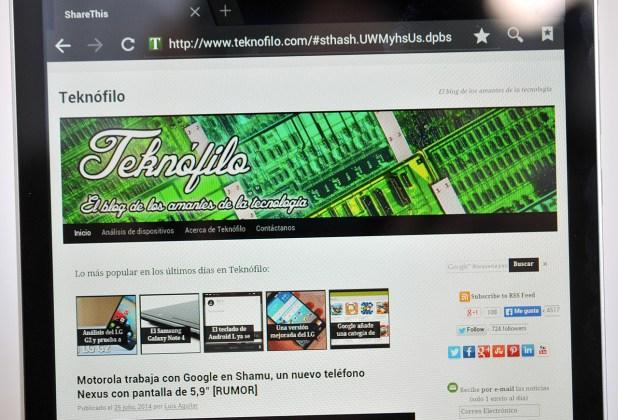 Tablet Energy Sistem Energy i8 Quad 3G Quad 3G - Pantalla
