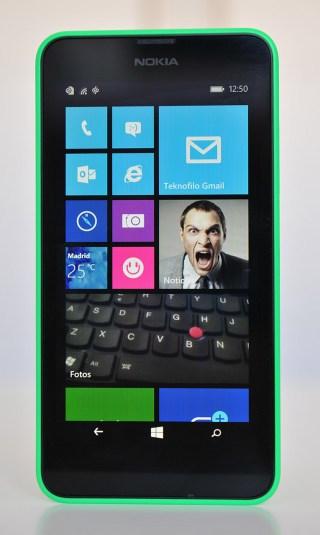 Nokia Lumia 630 - Frontal