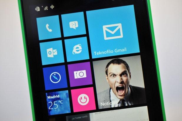 Nokia Lumia 630 - Pantalla
