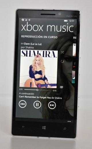 Nokia Lumia 930 - Musica