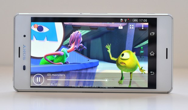 Sony Xperia Z3 - Pelicula