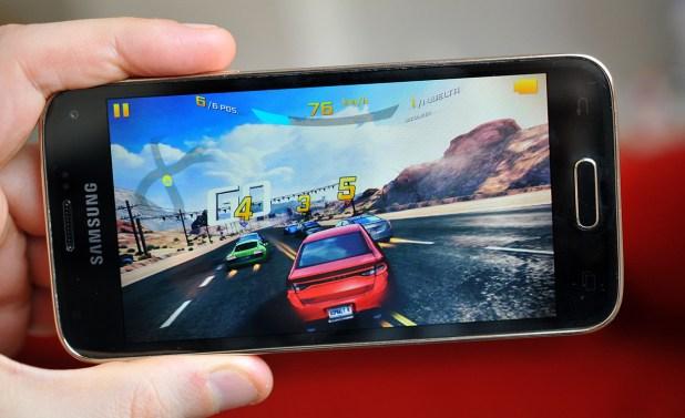 Samsung Galaxy S5 mini - Asphalt