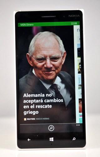 Nokia Lumia 830 - dinero