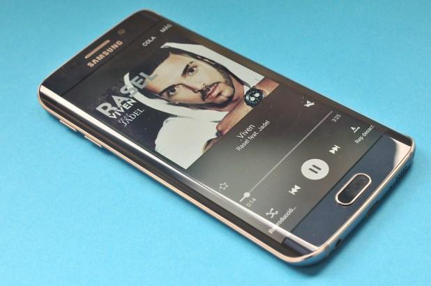 Samsung Galaxy S6 edge - Musica