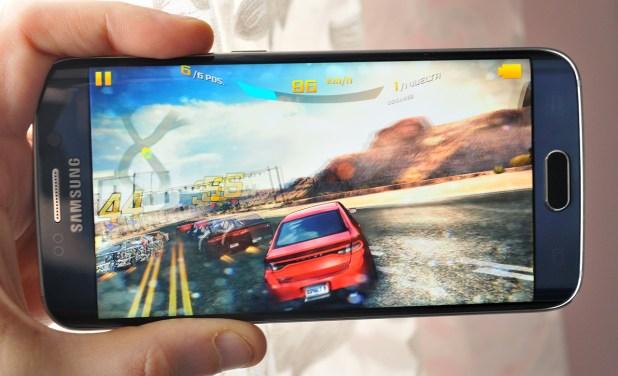 Samsung Galaxy S6 edge - juego