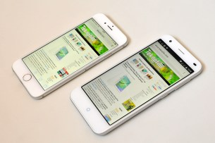 iPhone 6 y ZTE Blade 6