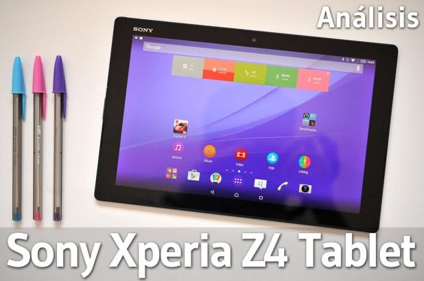 Sony Xperia Z4 Tablet - Analisis