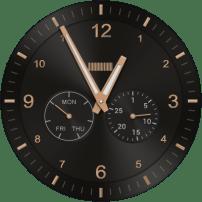 Pantalla de reloj