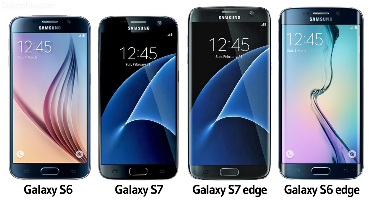 samsung galaxy s7 vs s6 son tan iguales sus dise os