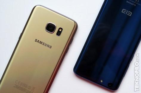 Samsung Galaxy S7 edge y Elephone S7
