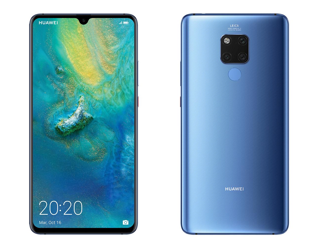 El Huawei Mate 20 X con pantalla de 7.2