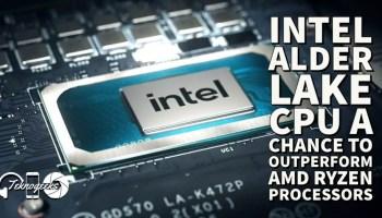 Intel Alder Lake CPU