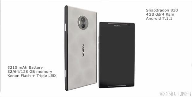 Nokia C1 teknik özellikleri yer almakta