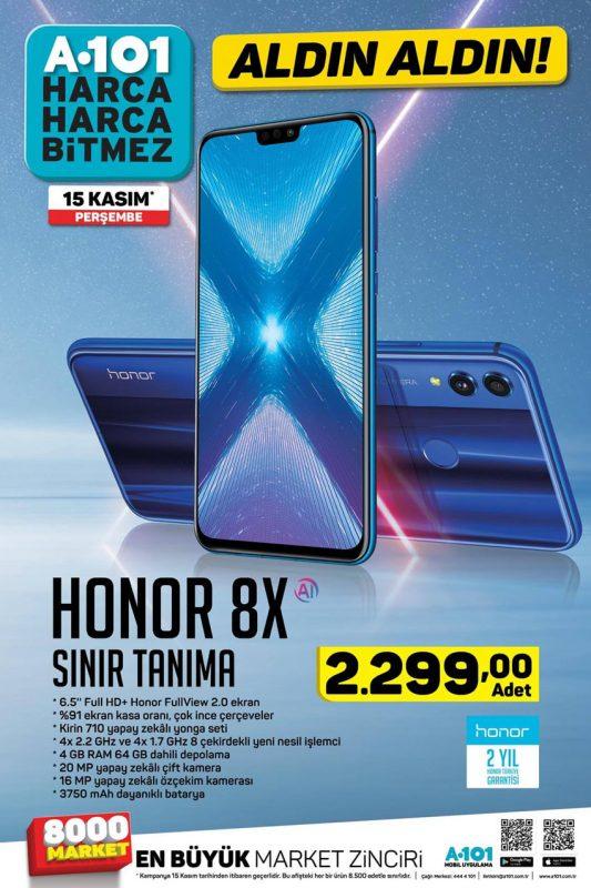 A101 Honor 8X