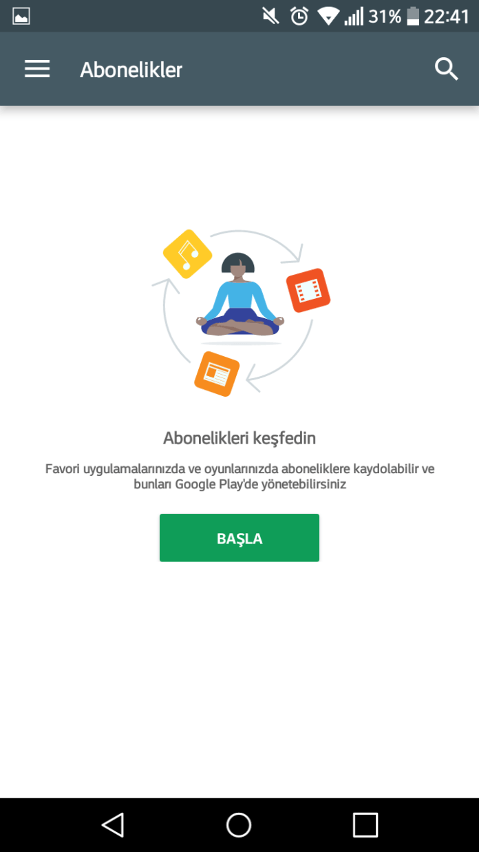 google-play-abonelikler