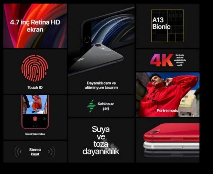 iPhone SE 2020 Özellikleri ve Fiyatı