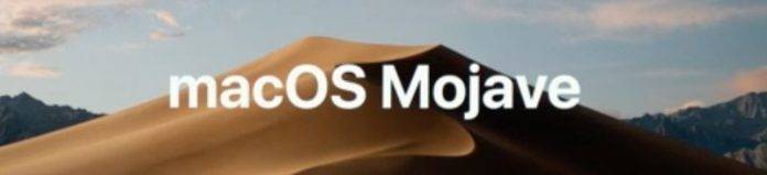 MacOS Mojave Screen