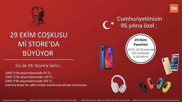 Eveone Xiaomi 29 Ekim Özel Kampanya