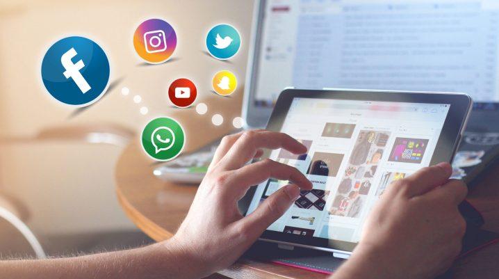 postingan dalam media sosial