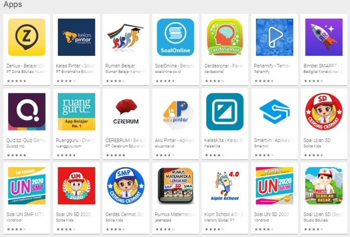 Aplikasi Belajar Online Terbaik di Android