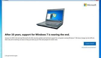 Microsoft, Windows 7 Kullanıcılarını Yine Uyardı