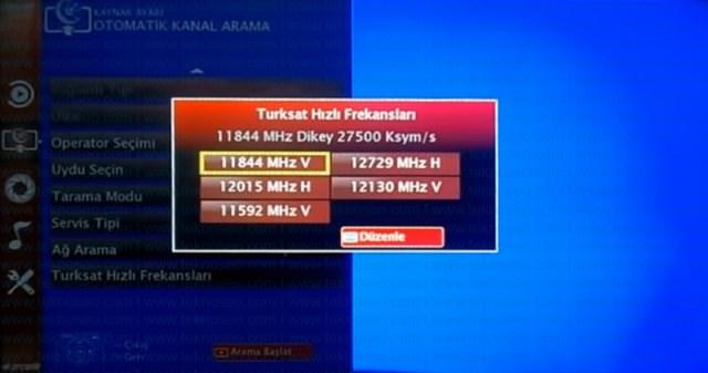 arçelik,smart tv,kanal arama,sinyal yok,turksat 4a,uydu ayarları
