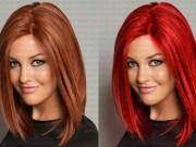 photoshop,saç rengi,renk değiştirme,eğitim