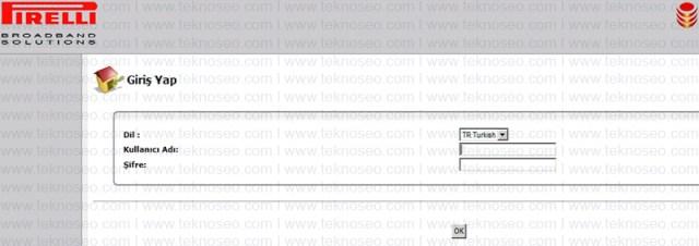 pirelli,prg e4202g,modem kurulumu,kablosuz ayarları,arayüz giriş şifresi