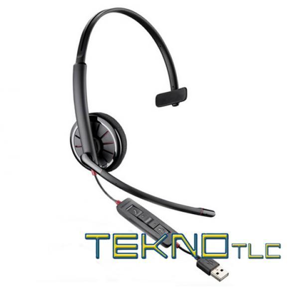 Plantronics Blackwire C310 cuffia USB mono, Sistemi e
