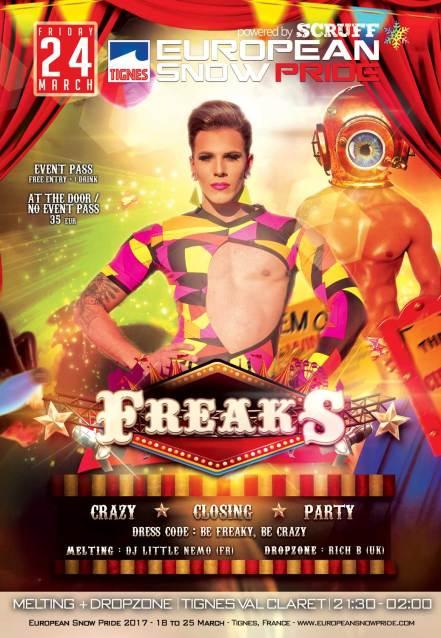 Freaks @ European Snow Pride 2017