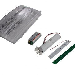 Recessed Lighting Parts Diagram Simplex 4 Wire Duct Detector Wiring Spare For Emergency Lights Teknoware