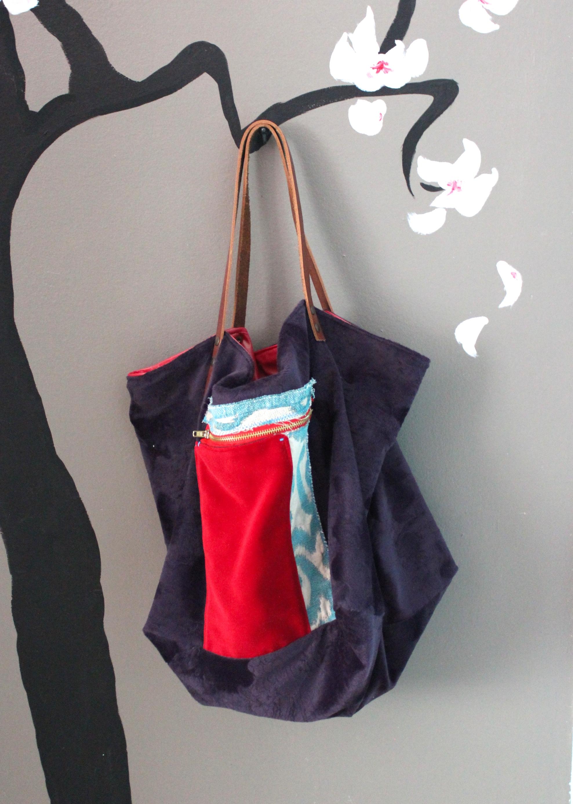 Le borse sotto la magnolia (borse di tessuto fatte a mano)  TEKOA MILANO