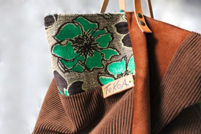 borsa di stoffa fatta a mano da Tekoa Milano